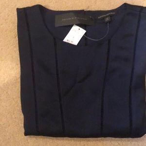 Women's dress top (navy)